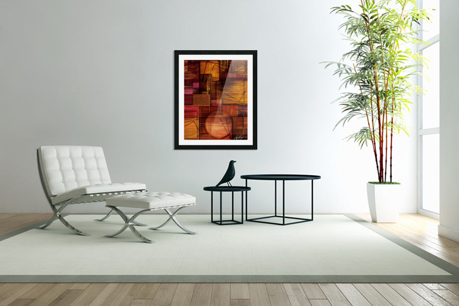 ABSTRACT-1512 Integration in Custom Picture Frame