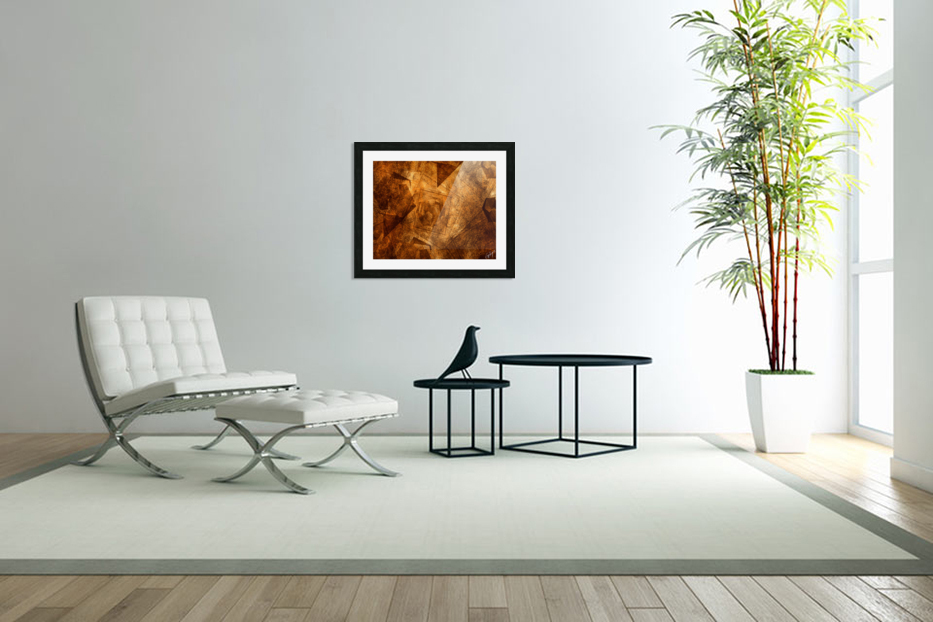 ABSTRACT-1008 Sociability in Custom Picture Frame