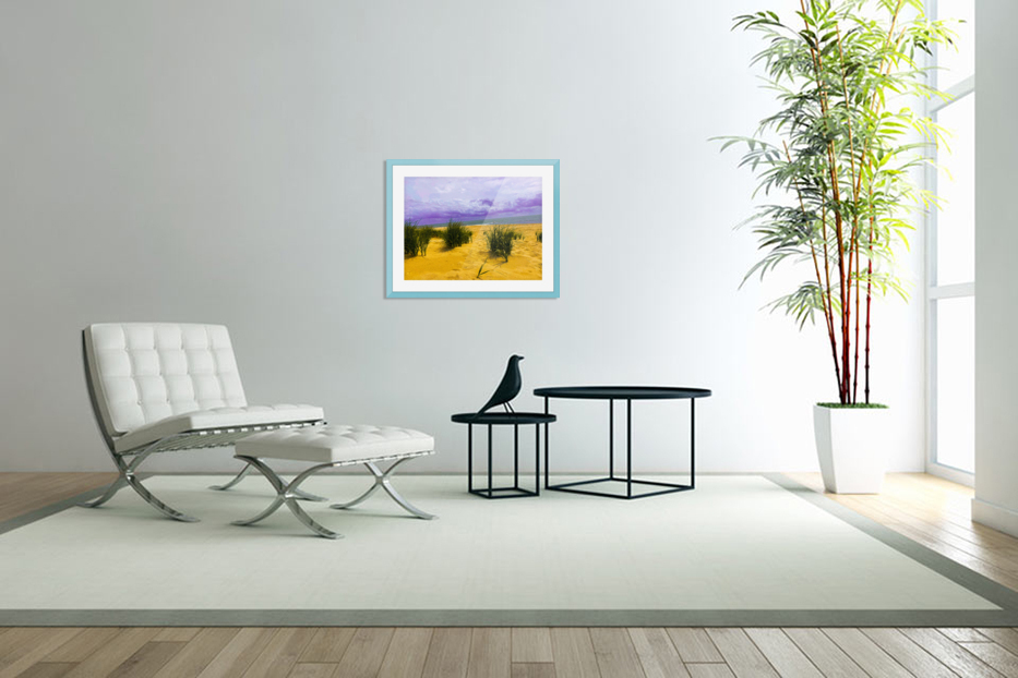 Dunes at Cape May in Custom Picture Frame