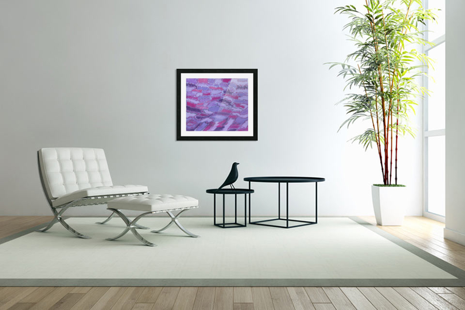 shades of purple in Custom Picture Frame