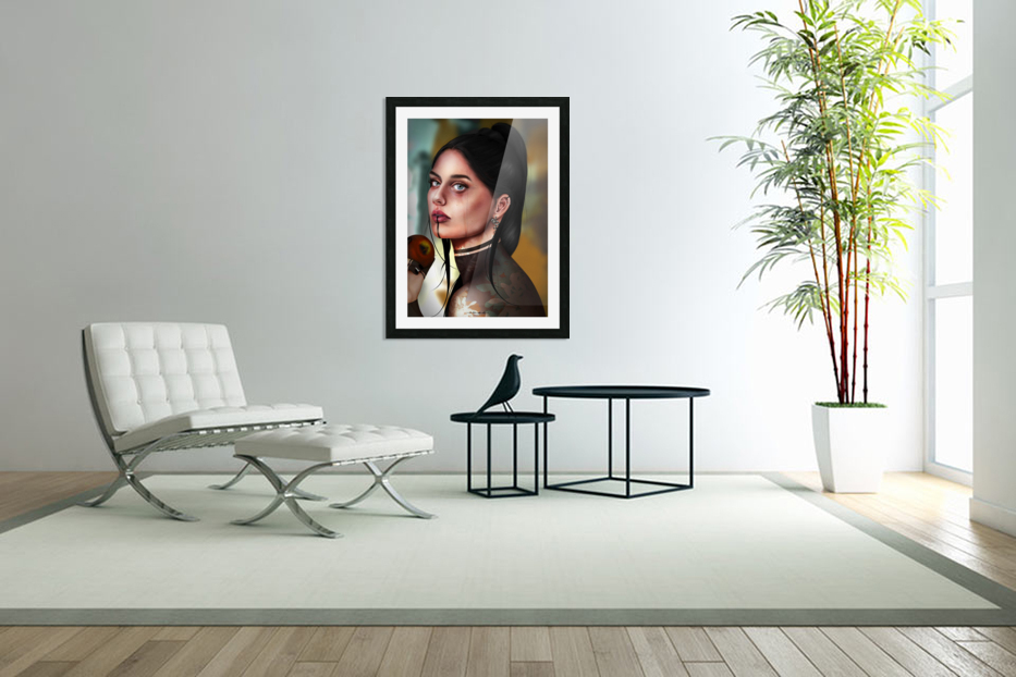 Eves apple in Custom Picture Frame