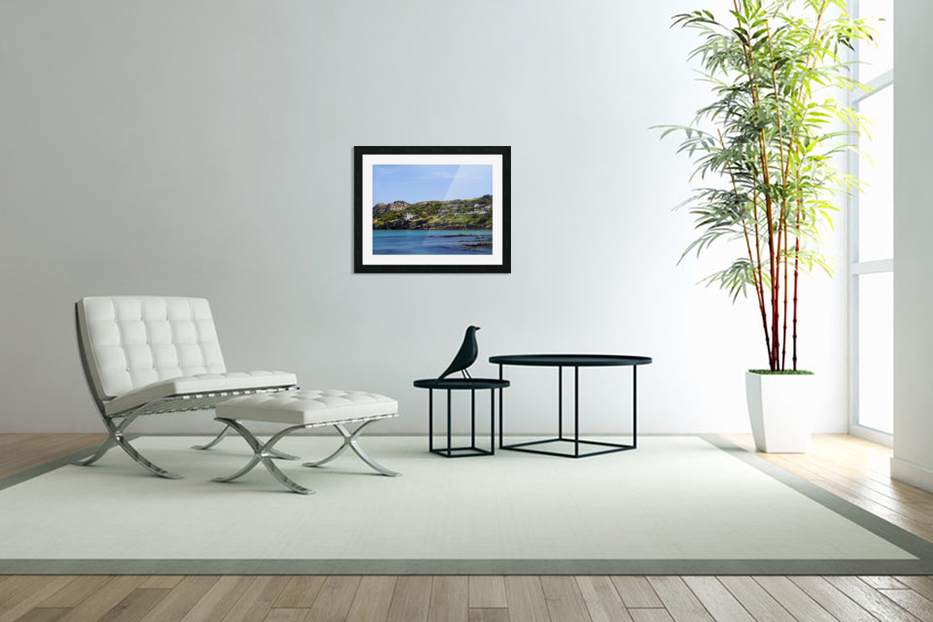 Howth Ireland in Custom Picture Frame
