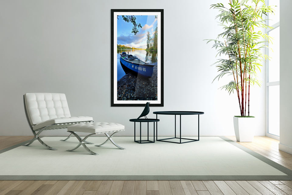 On the water in Custom Picture Frame
