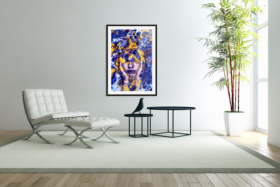 Endless Thoughts in Custom Picture Frame