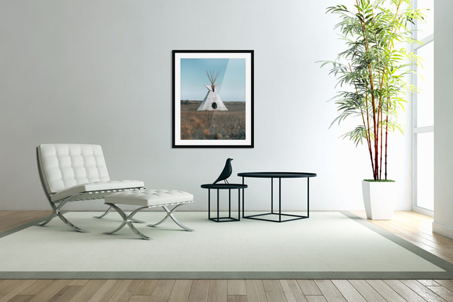 Cree Tipi in Custom Picture Frame
