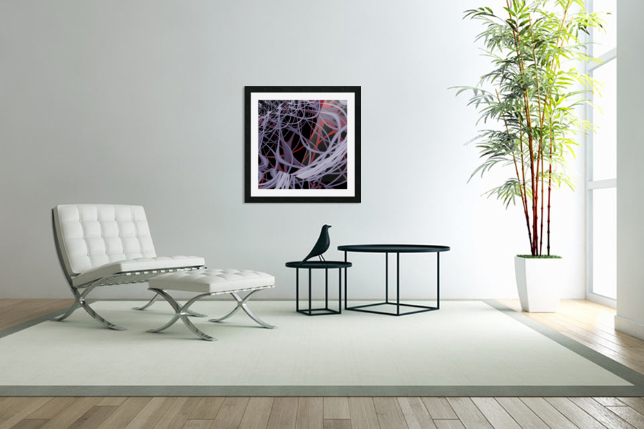 Spaghettification in Custom Picture Frame