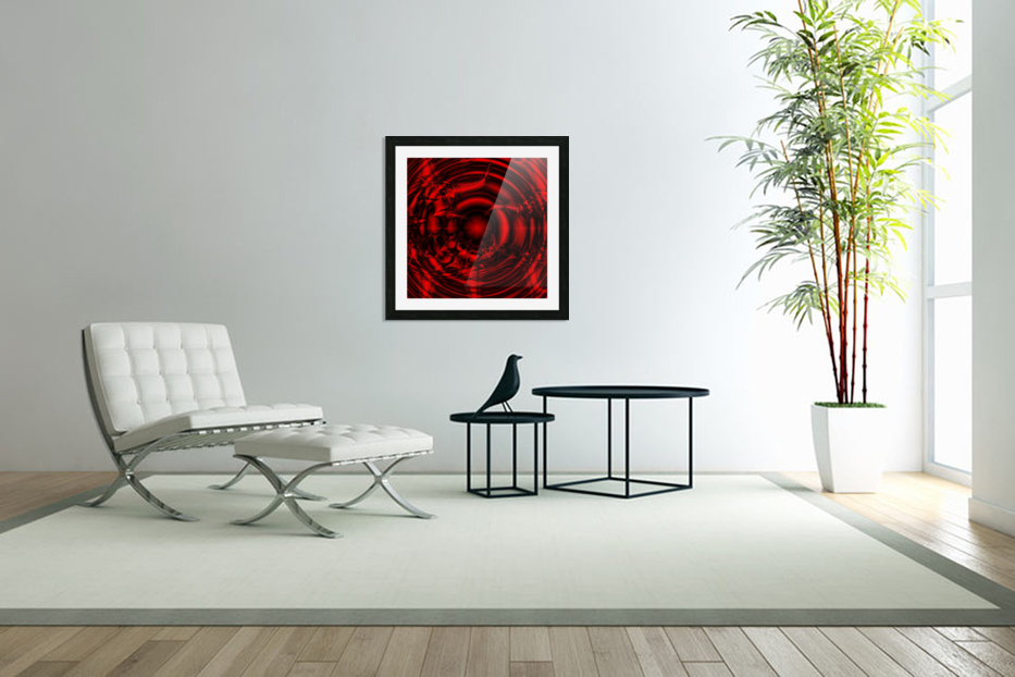 RedCell in Custom Picture Frame