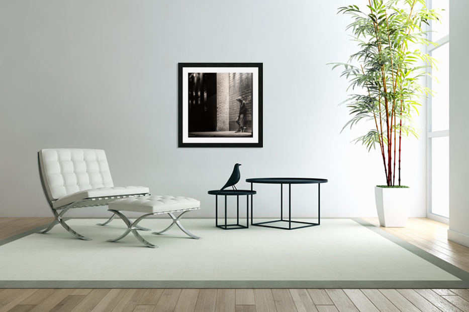 Urban Loneliness - The Lonely Teen in Custom Picture Frame