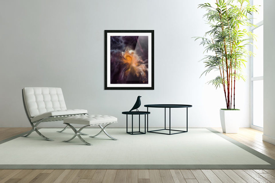 Painting The Heavens in Custom Picture Frame