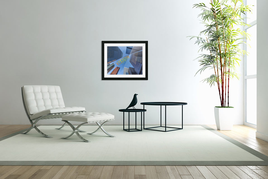 vision in Custom Picture Frame