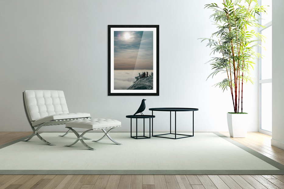Effortless Tranquility in Custom Picture Frame