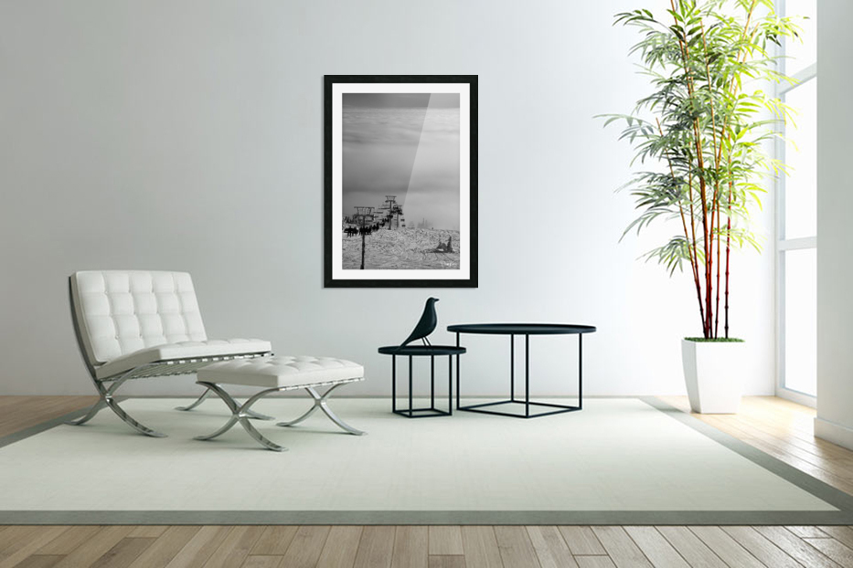 Chairway to Heaven in Custom Picture Frame