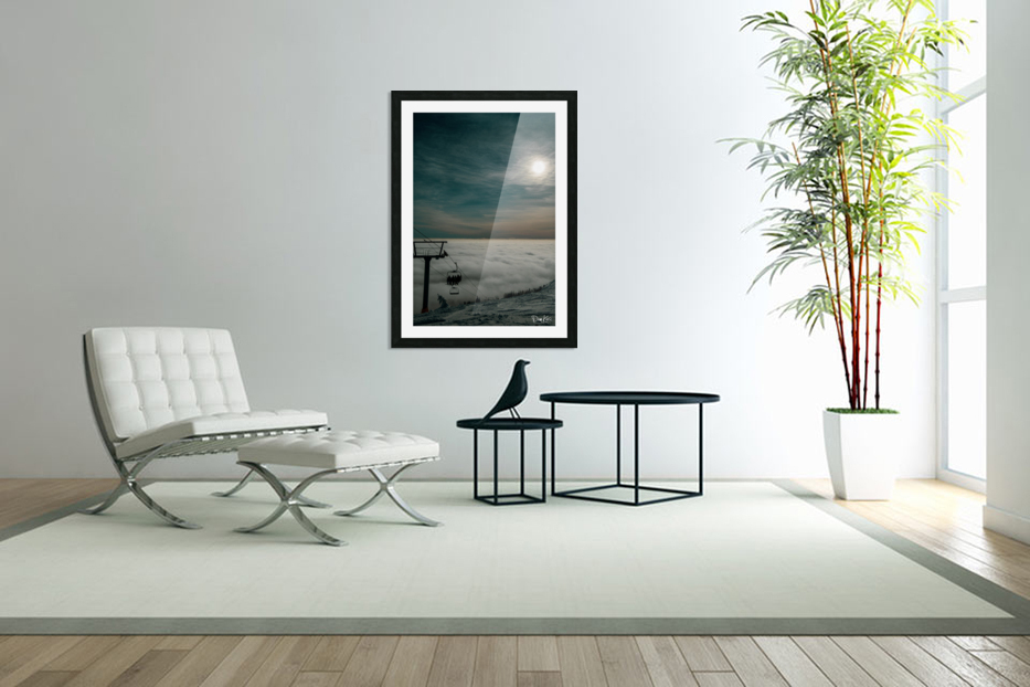 Rising Above in Custom Picture Frame