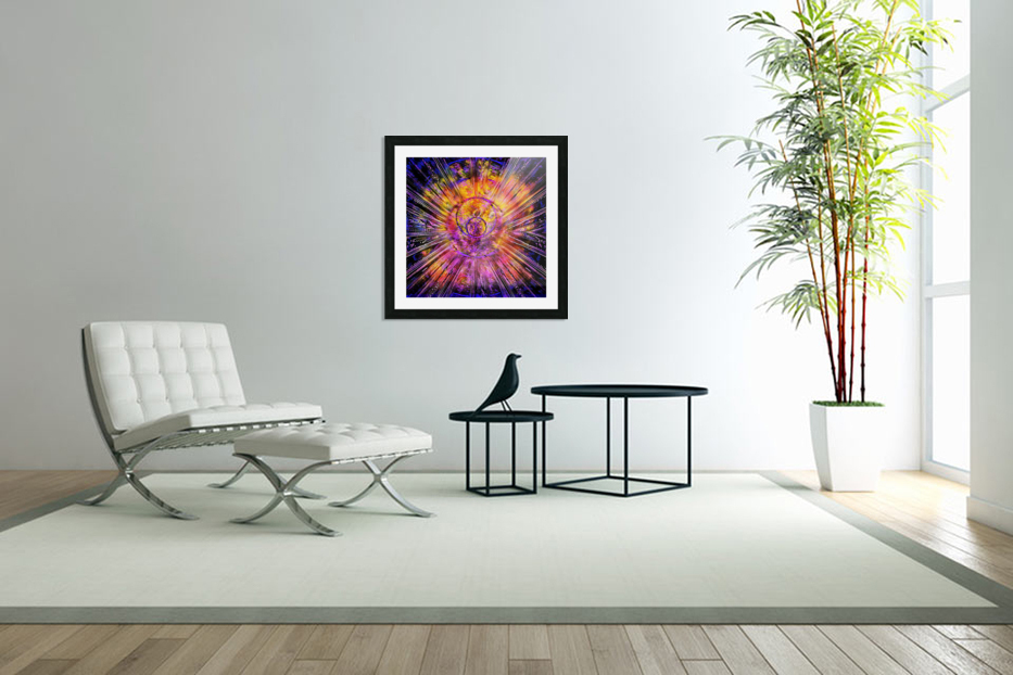 Light Body Activation in Custom Picture Frame