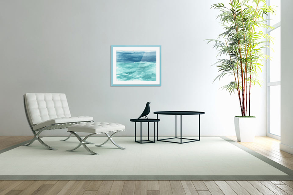 Looking for Swells in Custom Picture Frame