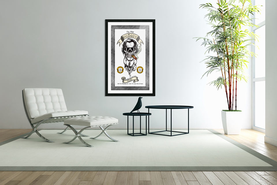 CO2 Guy Certified Real Global Climate Menace WHT in Custom Picture Frame
