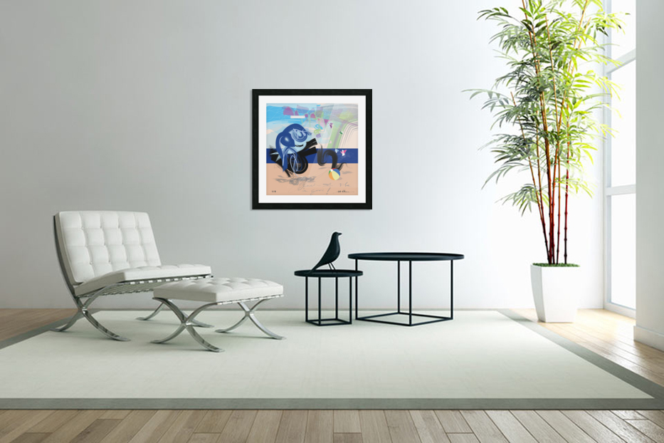 Vibe Travelers in Custom Picture Frame