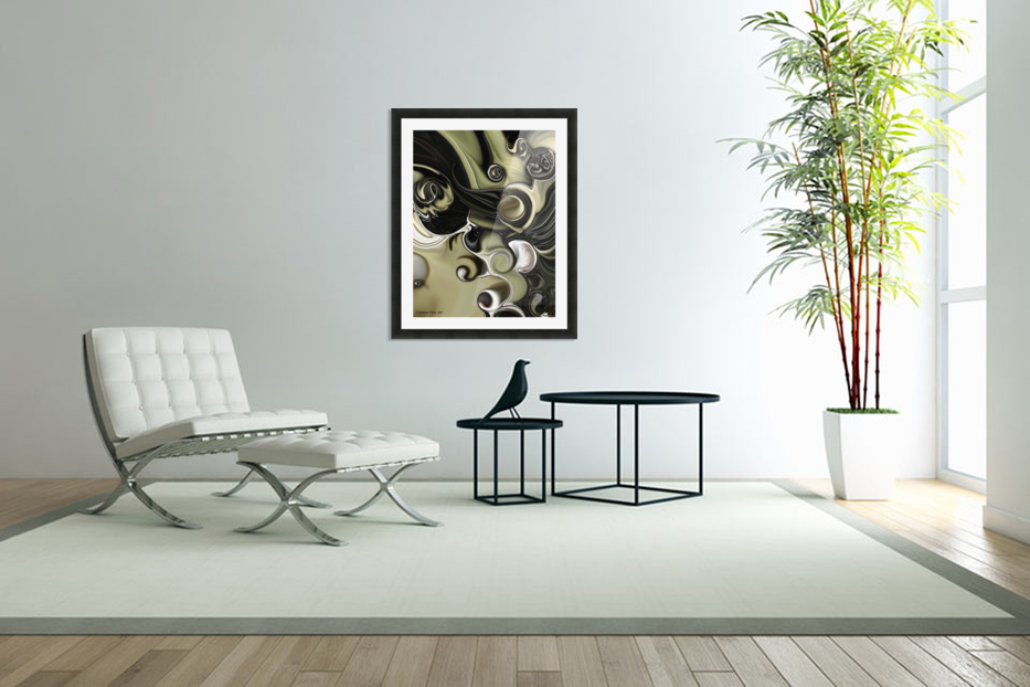 Still Life with Confused Movement in Custom Picture Frame