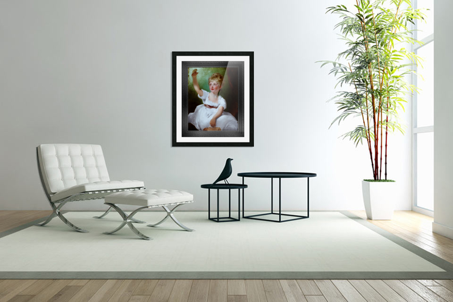 Princess Charlotte of Wales by Sir Thomas Lawrence Classical Fine Art Xzendor7 Old Masters Reproductions in Custom Picture Frame