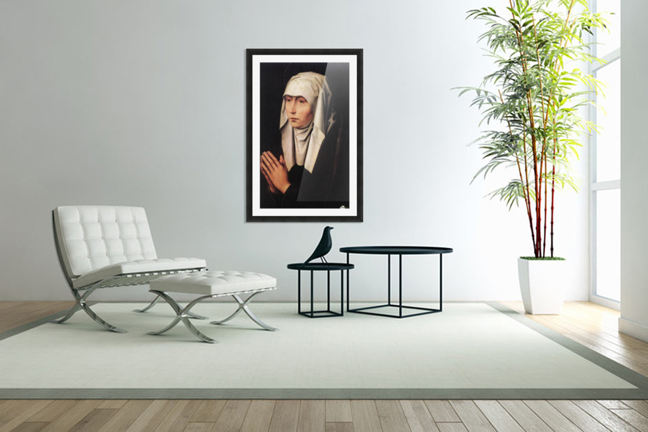Mater Dolorosa in Custom Picture Frame