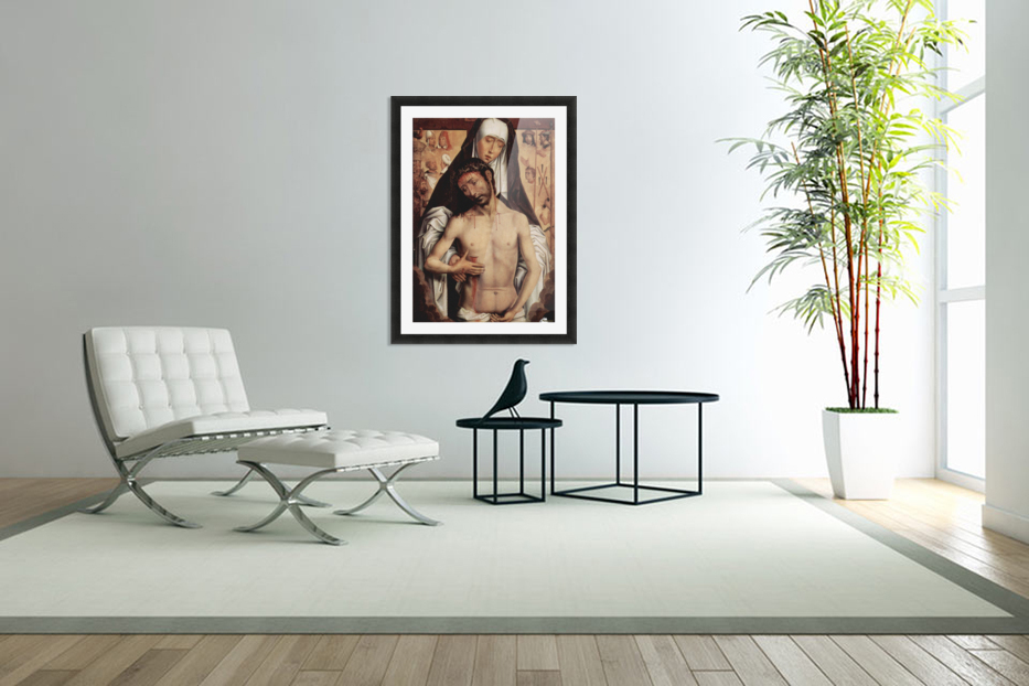 Mater Dolorosa, 1475 in Custom Picture Frame