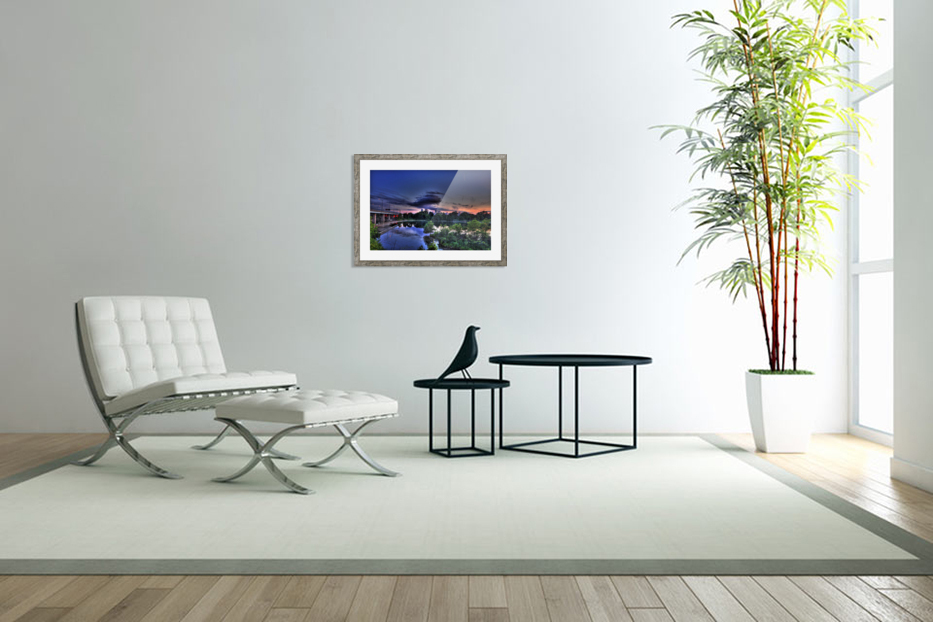 montreal island in Custom Picture Frame