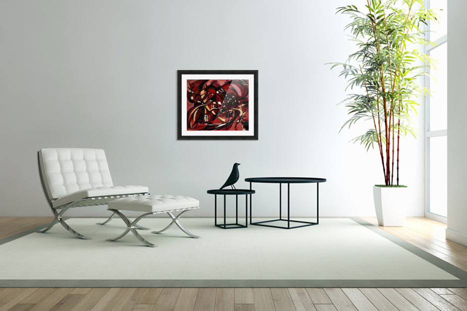 Intimate Still Life with Incidental Intensity in Custom Picture Frame