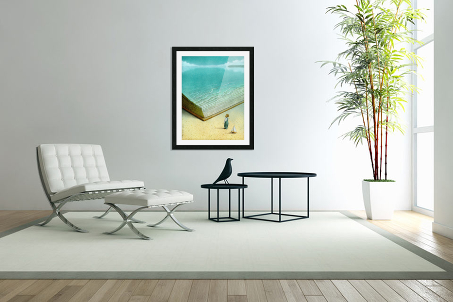 Ocean in Custom Picture Frame