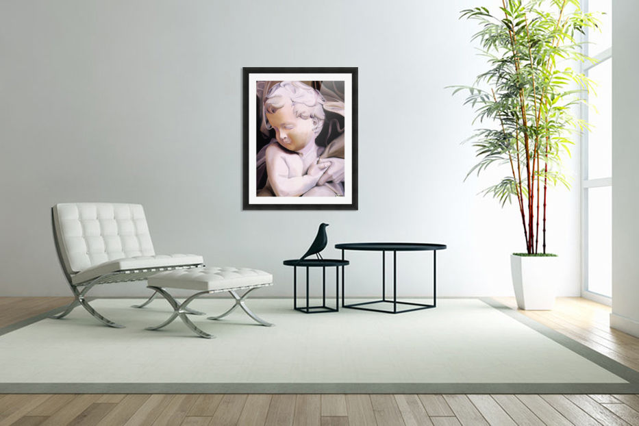 THE CHILD in Custom Picture Frame