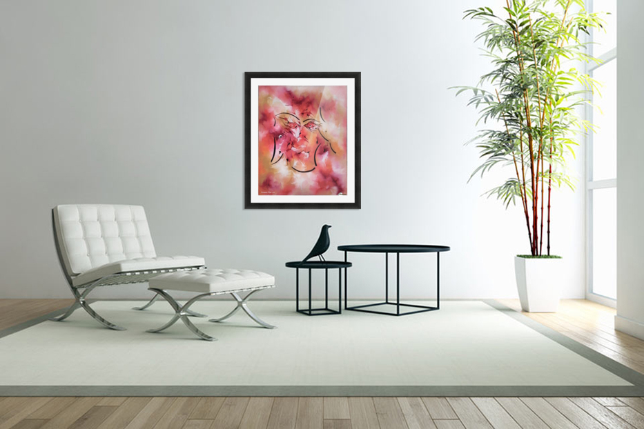 Act Including Silent Figure in Custom Picture Frame