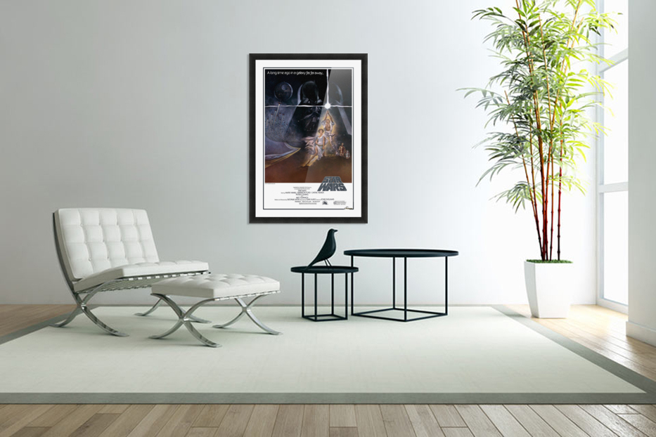 Star Wars movie poster - VINTAGE POSTER Canvas