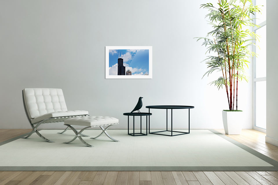 Willis Tower in Custom Picture Frame