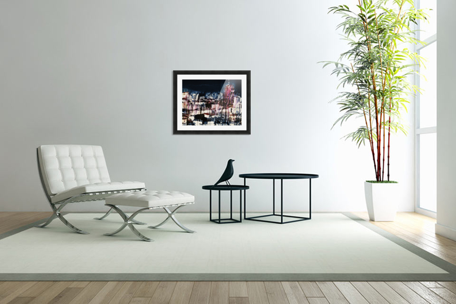Cityscape Serie in Custom Picture Frame