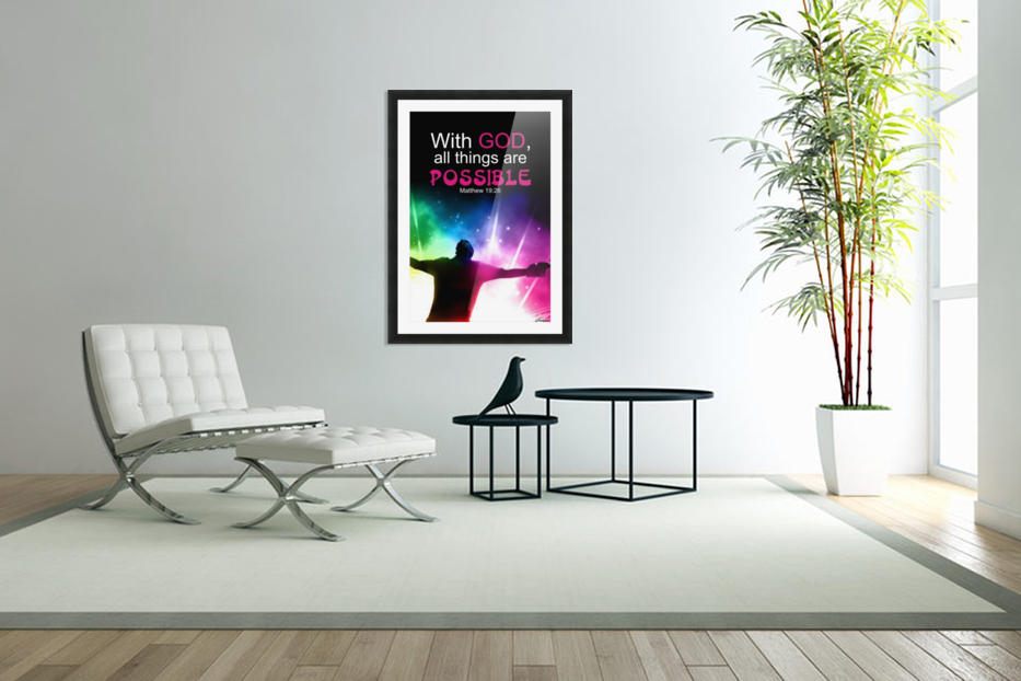 All things Possible in Custom Picture Frame