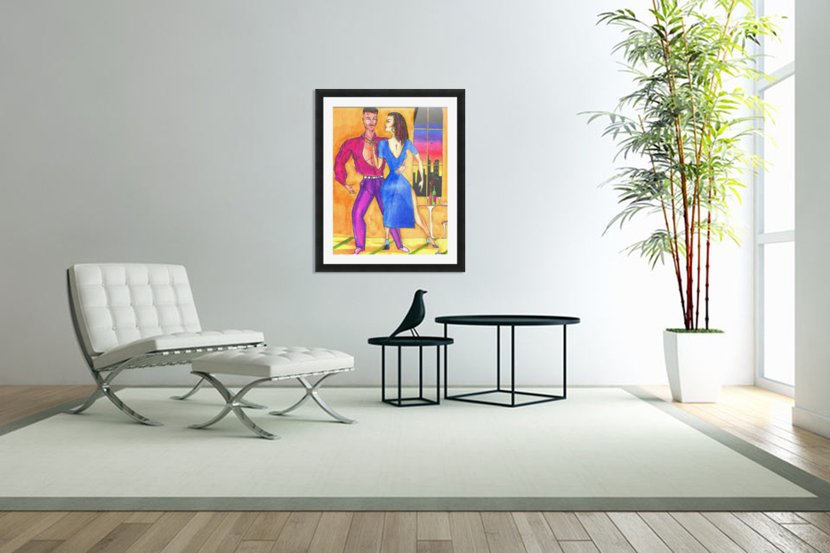 the dance in Custom Picture Frame