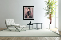 Amy in black   Acrylic Print