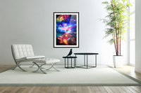 Colorful Galaxy   Acrylic Print