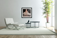 Marilyn in white ballet dress 1  Acrylic Print