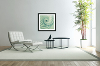 Composition in Celadon  Acrylic Print