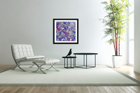 butterfly collage med  Acrylic Print