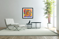This is a beautiful design with great color, shape, line, texture, space and value.  (14)  Acrylic Print
