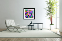 This is a beautiful design with great color, shape, line, texture, space and value.  (50)  Acrylic Print