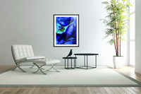 Art of the blue rose 3   Acrylic Print