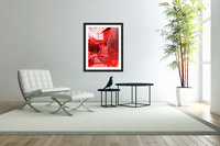 Let Them Eat Cake  -- Red  Acrylic Print