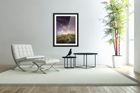 Purple Milky Way And The Sunshine  Acrylic Print