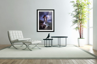 Death of Sappho by Miguel Carbonell Selva  Acrylic Print
