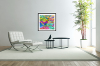 Colorful Abstraction  Acrylic Print