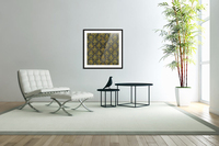 Golden pattern with marble  Acrylic Print