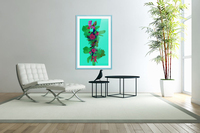 Floral Collage  Acrylic Print