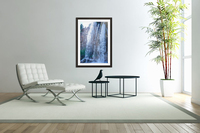 Standing in the Waterfalls  Acrylic Print